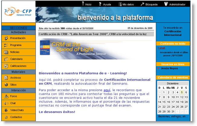 Plataforma eLearning